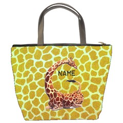 Giraffe Bucket Bag By Joy Johns   Bucket Bag   Duaoglvjel92   Www Artscow Com Back
