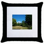 land2 Throw Pillow Case (Black)