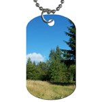 land2 Dog Tag (One Side)