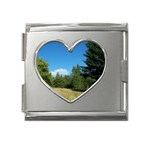 land2 Mega Link Heart Italian Charm (18mm)