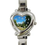 land2 Heart Italian Charm Watch