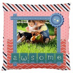 Kids By Kids   Large Cushion Case (two Sides)   Qtmjjupyp7ys   Www Artscow Com Back