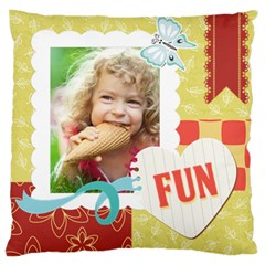 Kids By Kids   Large Cushion Case (two Sides)   V13k1e88094t   Www Artscow Com Front