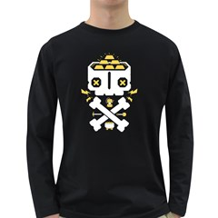 Gold Mind Men s Long Sleeve T Shirt (dark Colored) by Contest1853704