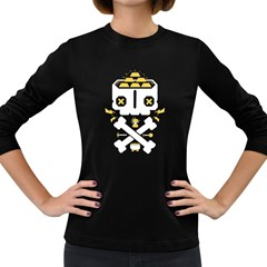 Gold Mind Women s Long Sleeve T Shirt (dark Colored) by Contest1853704