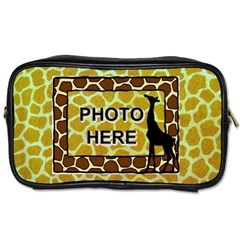 Giraffe Toiletres Bag By Joy Johns   Toiletries Bag (two Sides)   Ijnvk959ct9r   Www Artscow Com Front