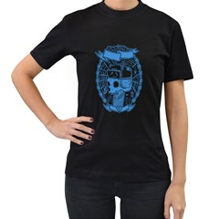 Play With Spider Women s T Shirt (black)