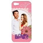 love - Apple iPhone 5 Hardshell Case