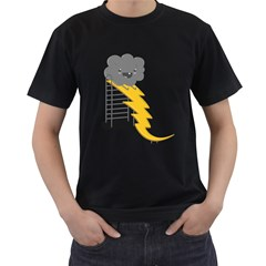 Ride The Lightning! Men s T Shirt (black)