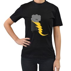 Ride The Lightning! Women s T Shirt (black) by Contest1861806