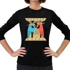 The Discovery Women s Long Sleeve T Shirt (dark Colored)