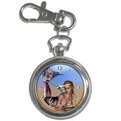 Mermaid On The Beach  Key Chain & Watch by goldenjackal