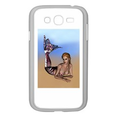 Mermaid On The Beach  Samsung Galaxy Grand Duos I9082 Case (white) by goldenjackal