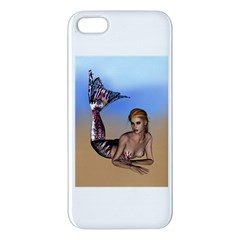 Mermaid On The Beach  Iphone 5s Premium Hardshell Case