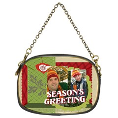 Xmas By Merry Christmas   Chain Purse (two Sides)   2z8o0gvofwif   Www Artscow Com Front