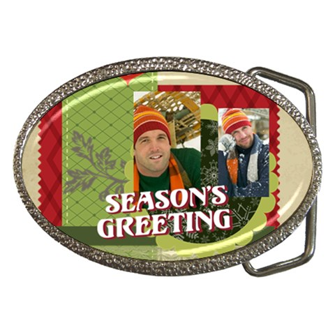 Xmas By Merry Christmas   Belt Buckle   095n6042vpap   Www Artscow Com Front