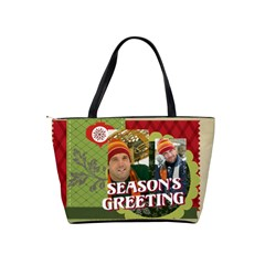 Xmas By Merry Christmas   Classic Shoulder Handbag   G0012zbuga2o   Www Artscow Com Back