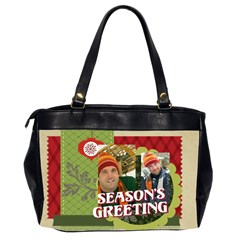 Xmas By Merry Christmas   Oversize Office Handbag (2 Sides)   Wfgb1o6i9aih   Www Artscow Com Back