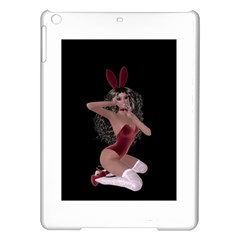 Miss Bunny In Red Lingerie Apple Ipad Air Hardshell Case by goldenjackal