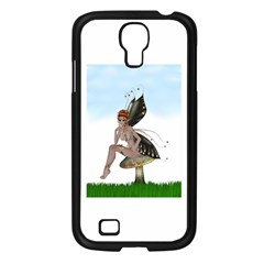 Fairy Sitting On A Mushroom Samsung Galaxy S4 I9500/ I9505 Case (black) by goldenjackal