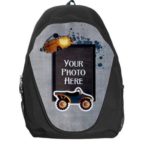 Let s Ride Backpack By Lisa Minor   Backpack Bag   Hx8zr3cal7xh   Www Artscow Com Front