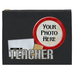 Teacher Xxxl Cosmetic Bag By Lisa Minor   Cosmetic Bag (xxxl)   Vinrsc9c00uk   Www Artscow Com Front