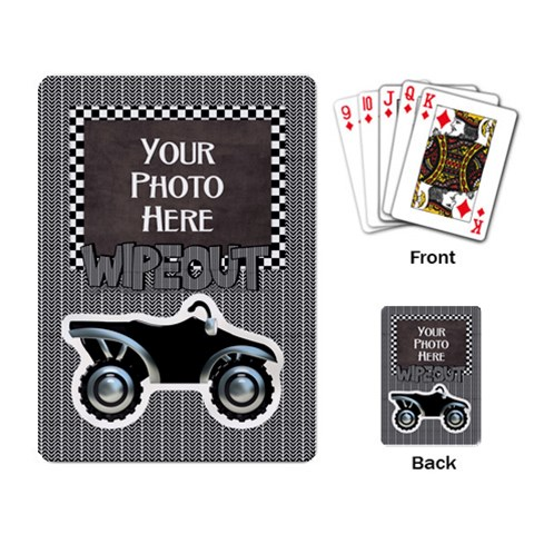 Let s Ride Playing Cards By Lisa Minor   Playing Cards Single Design   1q7c67czijet   Www Artscow Com Back