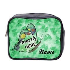 Butterfly Mini Toiletries Bag By Joy Johns   Mini Toiletries Bag (two Sides)   L2dygfse1poi   Www Artscow Com Front