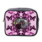 Butterfly mini toiletries bag #2 - Mini Toiletries Bag (Two Sides)