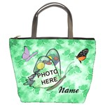 Butterfly Garden Bucket Bag