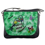 Butterfly Garden messenger bag