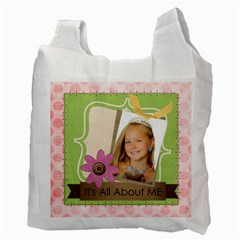 Kids By Kids   Recycle Bag (two Side)   Ekijdu1b101q   Www Artscow Com Back