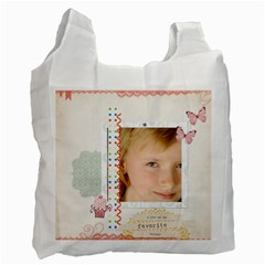 Kids By Kids   Recycle Bag (two Side)   R2p8ljiehw0z   Www Artscow Com Front