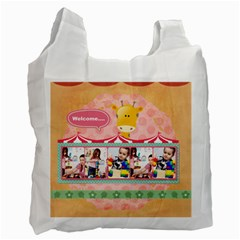 Kids By Kids   Recycle Bag (two Side)   53hrzh9t5g1p   Www Artscow Com Front