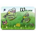 Butterfly Fields large door mat - Large Doormat