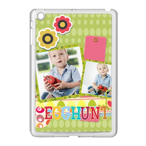 Easter By Easter   Apple Ipad Mini Case (white)   Ba250billtps   Www Artscow Com Front