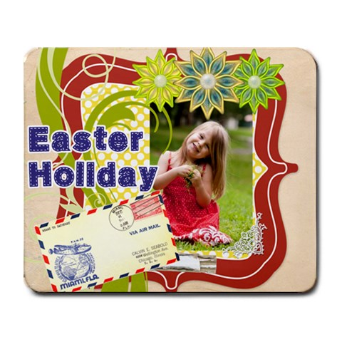 Easter By Easter   Collage Mousepad   Novc007slodd   Www Artscow Com 9.25 x7.75 Mousepad - 1
