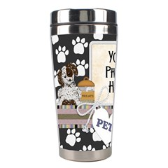 Pets Tumbler 1 By Lisa Minor   Stainless Steel Travel Tumbler   Npsg2v60bs5o   Www Artscow Com Left