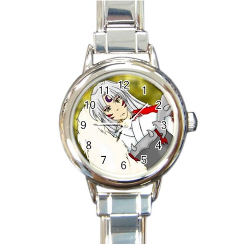 Sessho Lady Watch By Sarah   Round Italian Charm Watch   Pcrpciysf830   Www Artscow Com Front