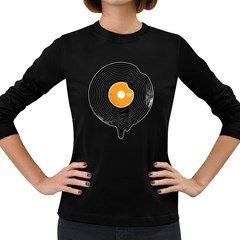 Melting Song Women s Long Sleeve T Shirt (dark Colored)