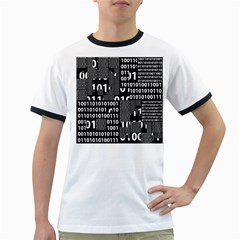 Beauty Of Binary Men s Ringer T Shirt