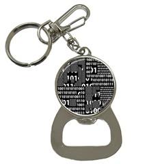 Beauty Of Binary Bottle Opener Key Chain