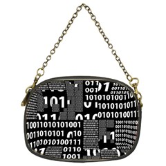 Beauty Of Binary Chain Purse (two Sided)