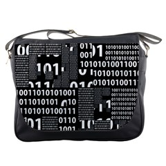 Beauty of Binary Messenger Bag