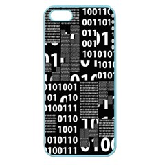 Beauty Of Binary Apple Seamless Iphone 5 Case (color)