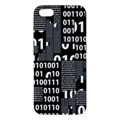 Beauty Of Binary Iphone 5s Premium Hardshell Case