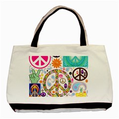 Peace Collage Classic Tote Bag