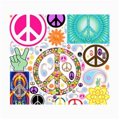Peace Collage Canvas 18  X 24  (unframed) by StuffOrSomething