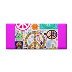 Peace Collage Hand Towel by StuffOrSomething