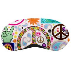 Peace Collage Sleeping Mask by StuffOrSomething